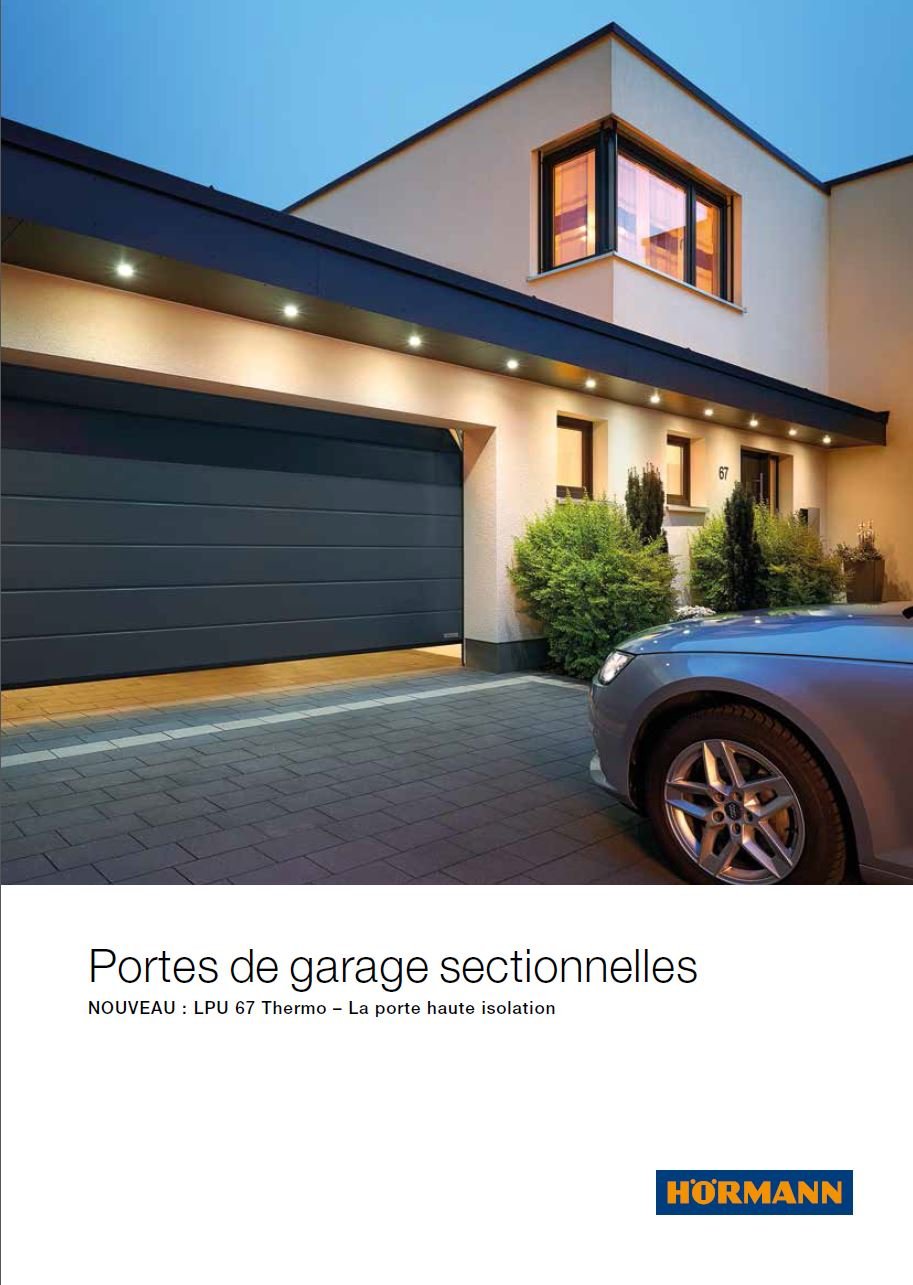 H rmann promotion 2018 porte de garage sectionnelle for Promotion porte de garage sectionnelle