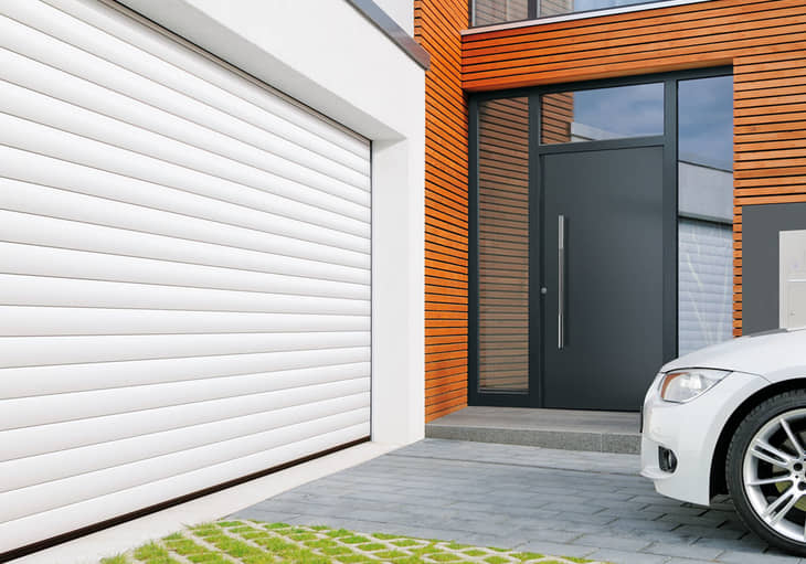 Encombrement r duit portes de garage enroulables for Porte de garage enroulable hormann prix